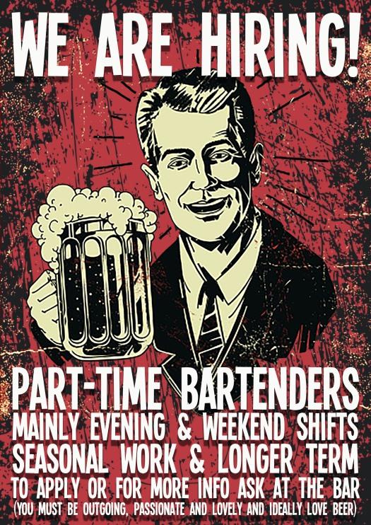 Bar Vacancy Poster Dec19SMALL
